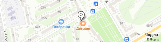 Светлана на карте Курска