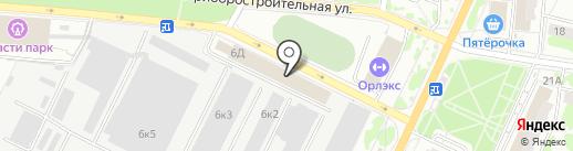 Автостандарт-Плюс на карте Орла