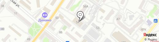 Сауна на карте Орла