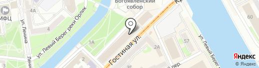 Финансовый университет при Правительстве РФ на карте Орла