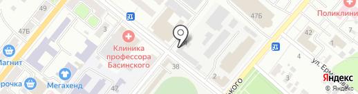 Оценочная фирма на карте Орла
