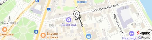 Всероссийский банк развития регионов на карте Орла