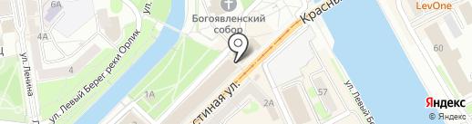 Институт профессиональных бухгалтеров Центрального региона России на карте Орла