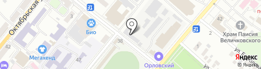 ЮСТ на карте Орла