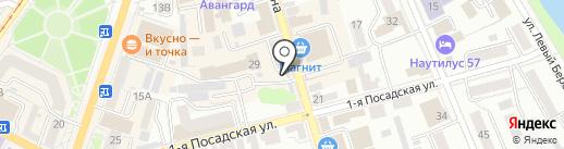 Киоск по продаже сахара и крупы на Гагарина, 22Б на карте Орла