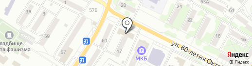Ракурс на карте Орла