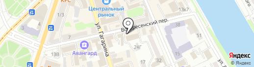 Территориальный орган Федеральной службы государственной статистики по Орловской области на карте Орла