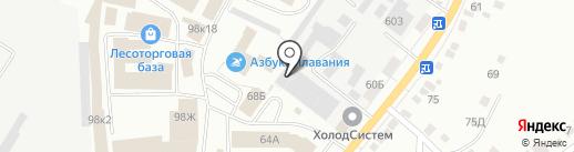 Аэрокомплект, ЗАО на карте Орла
