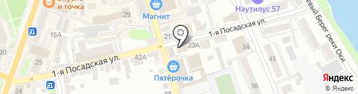 777 на карте Орла