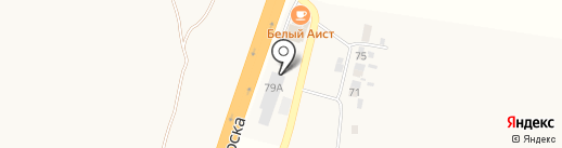 Бош-Центр Моква на карте 1-й Моквы