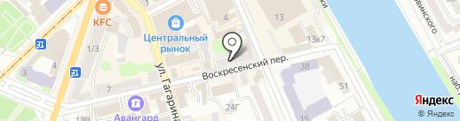 Русь модерн на карте Орла