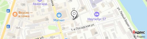 BoxBerry на карте Орла