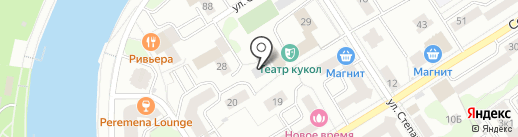 ИЦФР на карте Орла