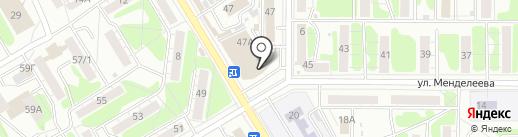 Магазин белорусской косметики на карте Курска