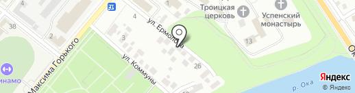 Адвокатский кабинет Уткина Г.А. на карте Орла