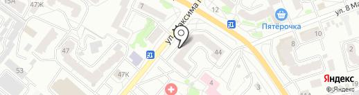 Золушка на карте Орла