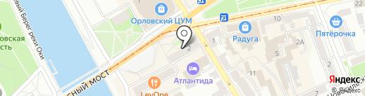 Автолайнтур+ на карте Орла