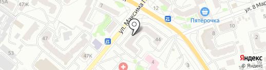 Затейник на карте Орла