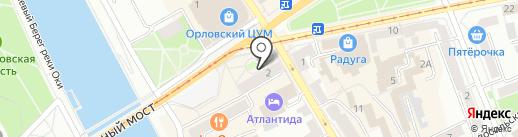 Автолайнтур-Орёл на карте Орла