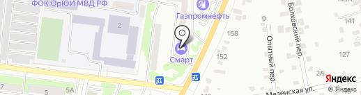 Смарт на карте Орла