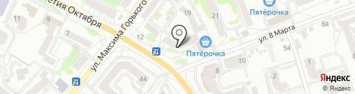 Бинбанк, ПАО на карте Орла