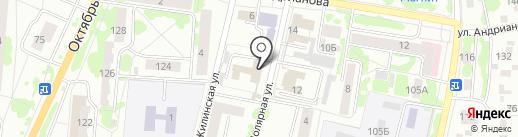 Орловский районный суд на карте Орла