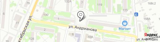 Отдел Военного комиссариата Орловской области на карте Орла