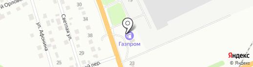 АЗС Газпром на карте Орла
