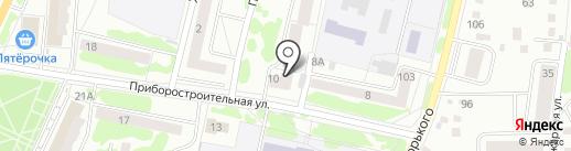 Смайл на карте Орла
