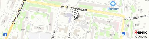Администрация Орловского района на карте Орла