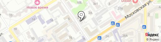 УЮТ на карте Орла