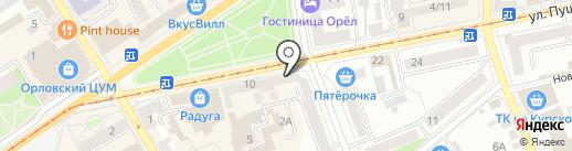 Дебют на карте Орла
