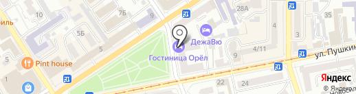 for MEN на карте Орла