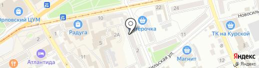 Сашенька на карте Орла