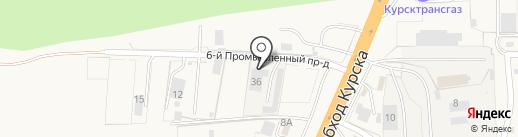 Транспортная компания на карте 1-й Моквы