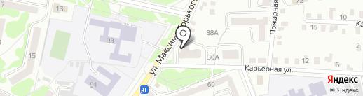 Синтезком на карте Орла