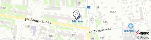 Библиотека №4 им. М.Ю. Лермонтова на карте Орла