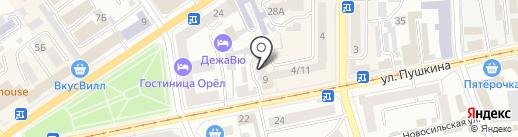 Зоомир на карте Орла