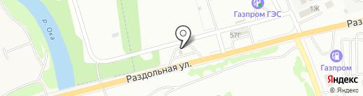 АЗК ТНК на карте Орла