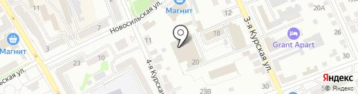 Флорагрупп на карте Орла