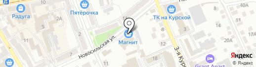Банкомат, Бинбанк, ПАО на карте Орла