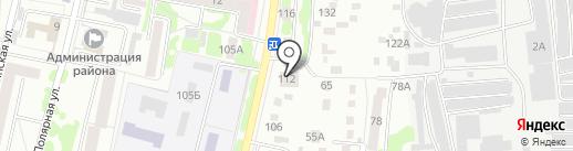 Банкомат, АКБ Московский Индустриальный банк на карте Орла