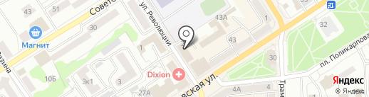 Юридический кабинет Поляковой Е.А. на карте Орла