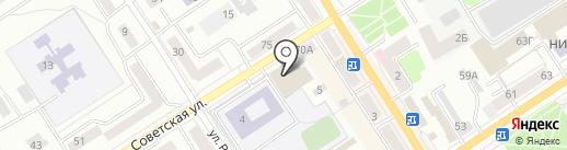 Орел-Карат на карте Орла