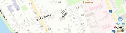 Отдел госпожарнадзора по Орловскому району на карте Орла