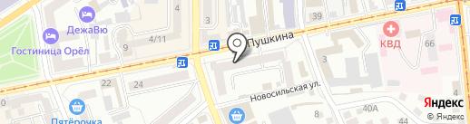 Ассорти-экспресс на карте Орла
