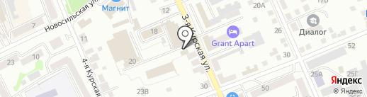 Самоделкин на карте Орла