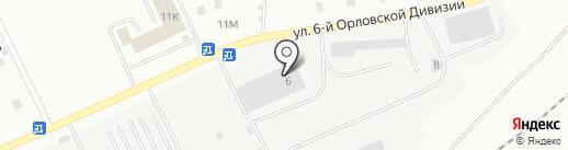 СУ №5 на карте Орла