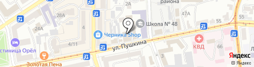 ПРОЕКТЭЛЕКТРОМОНТАЖ на карте Орла