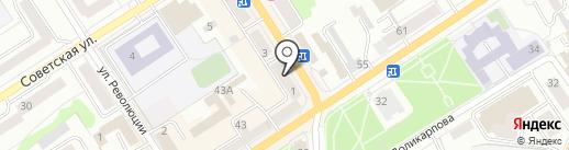 Нотариус Борисова Ю.В. на карте Орла